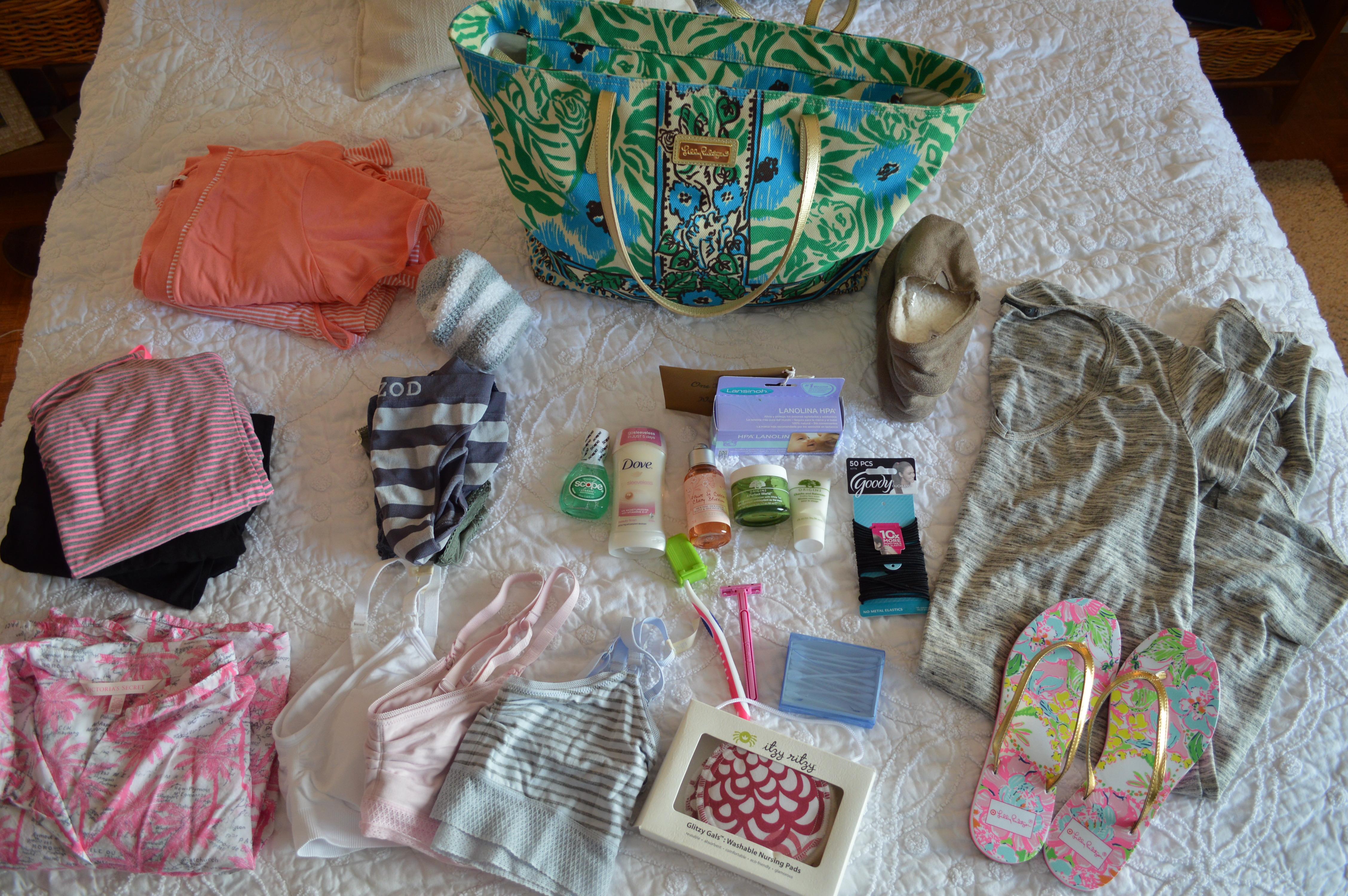 mama hospital bag